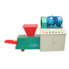 wood briquette machine